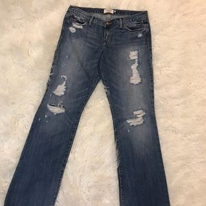 "Abercrombie & Fitch ""Emma"" bootcut Jeans Size 8R"
